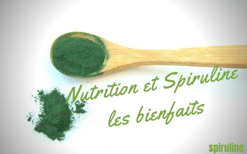 Nutrition et Spiruline les bienfaits - Conseil Spiruline Luxembourg